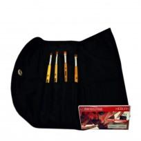Kit Pinceles para Uñas Esculpidas en Gel y Acrílico