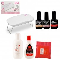 Cabina Portátil + Esmaltes On Off + Wipes + Finalizador + Removedor