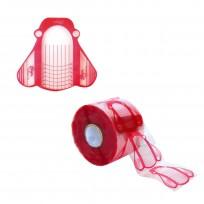 Moldes Transpartentes PVC para Uñas x500