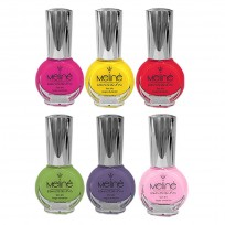 6 Esmaltes Tradicional Color Larga Duración x15 ml